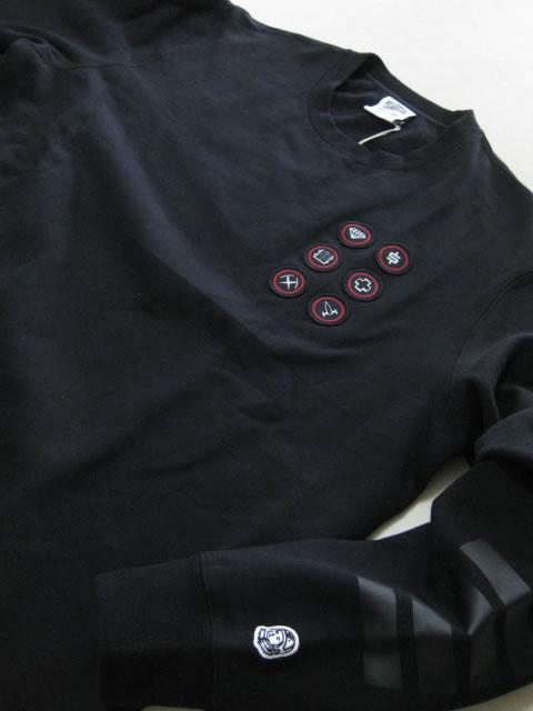 (大きいサイズ メンズ 通販 デビルーズ)BBC(ビリオネアボーイズクラブ)「FIRST ASCENT」スウェットシャツ