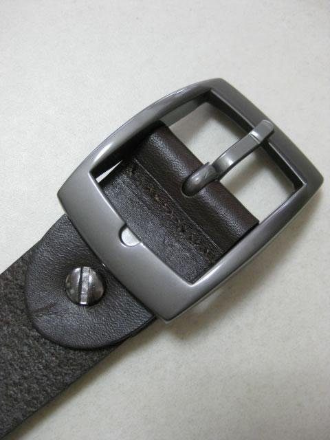 (大きいサイズ メンズ 通販 デビルーズ)BBL(ブラウン バッグリカー)「BASIC」本革ベルト
