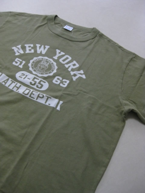 (大きいサイズ メンズ 通販 デビルーズ)Champion(チャンピオン)「NEW YORK」TEE