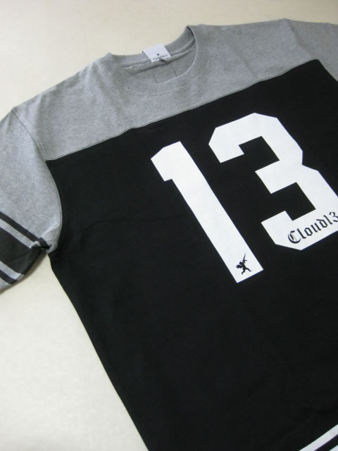 (大きいサイズ メンズ 通販 デビルーズ)CLOUD13(クラウドサーティーン)「NUMBER 13」TEE