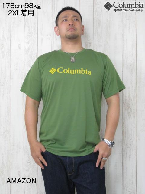 (大きいサイズ メンズ 通販 デビルーズ)Columbia(コロンビア)アーバンハイクTEE