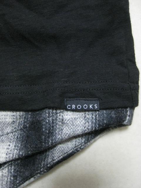 (大きいサイズ メンズ 通販 デビルーズ)CROOKS&CASTLES(クルックス&キャッスルズ)「U‐COLOR」ロンTEE