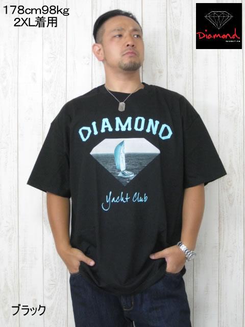 (大きいサイズ メンズ 通販 デビルーズ)Diamond(ダイアモンド)「OG YACHT CLUB」TEE