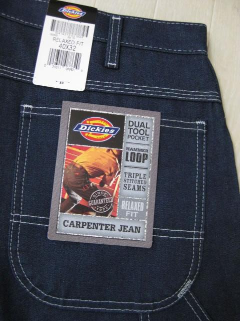 (大きいサイズ)DICKIES(ディッキーズ)1994カーペンタージーンズ