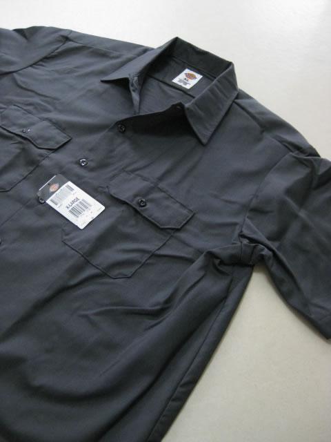 (大きいサイズ メンズ 通販 デビルーズ)Dickies(ディッキーズ)半袖ワークシャツ