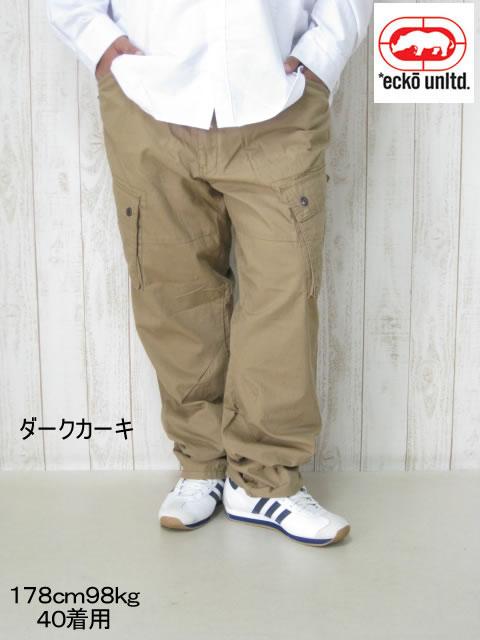 (大きいサイズ メンズ 通販 デビルーズ)ECKO UNLTD(エコーアンリミテッド)「RECON」カーゴパンツ