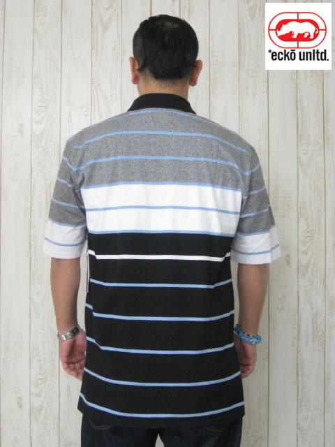 (大きいサイズ メンズ 通販 デビルーズ)ECKO UNLTD(エコーアンリミテッド)「BREAKER」半袖ポロシャツ