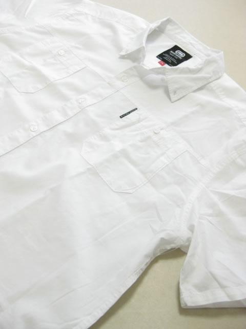 (大きいサイズ メンズ 通販 デビルーズ)ECKO UNLTD(エコーアンリミテッド)「WINDSOR WOVEN」半袖シャツ