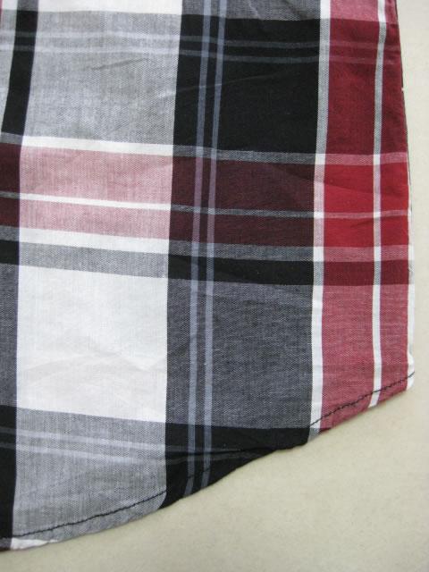 (大きいサイズ メンズ 通販 デビルーズ)ECKO UNLTD(エコーアンリミテッド)「CHECK」半袖シャツ