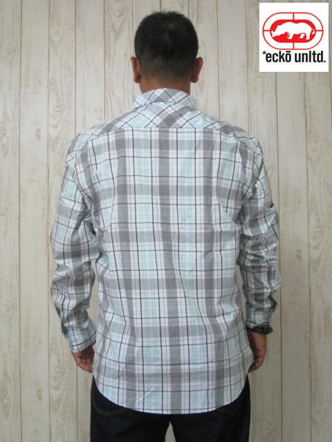 (大きいサイズ メンズ 通販 デビルーズ)ECKO UNLTD(エコーアンリミテッド)「GOVERNORS」長袖シャツ