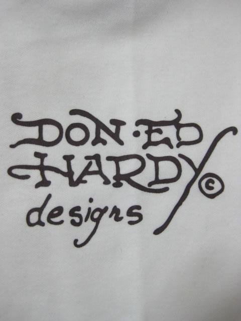 (大きいサイズ メンズ 通販 デビルーズ)EDHARDY(エドハーディ)「FAITH HOPE CHARITY」ポンチスタジャン