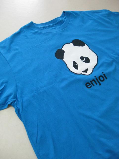 (大きいサイズ メンズ 通販 デビルーズ)enjoi(エンジョイ)「PANDA HEAD PREMIUM」TEE
