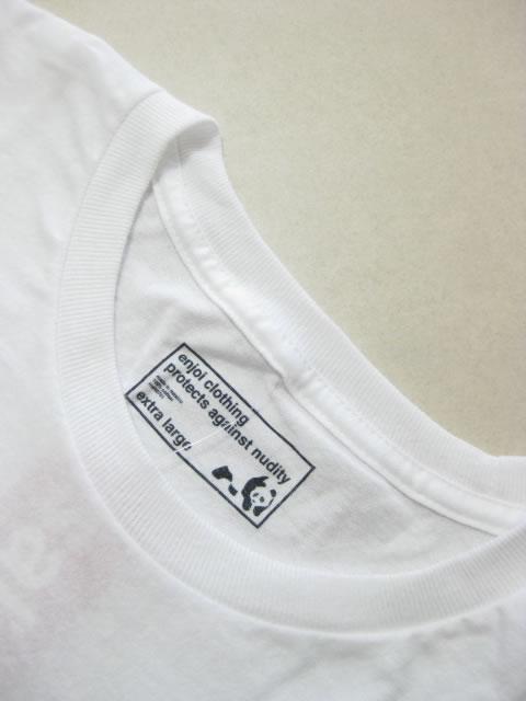 (大きいサイズ メンズ 通販 デビルーズ)enjoi(エンジョイ)「TONAL PANDA PREMIUM」TEE