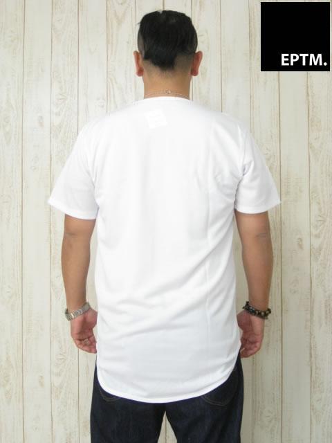 (大きいサイズ メンズ 通販 デビルーズ)EPTM(エピトミ)「DIMPLE MESH」TEE