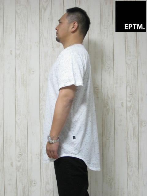 (大きいサイズ メンズ 通販 デビルーズ)EPTM(エピトミ)「FREENCH TERRY」TEE