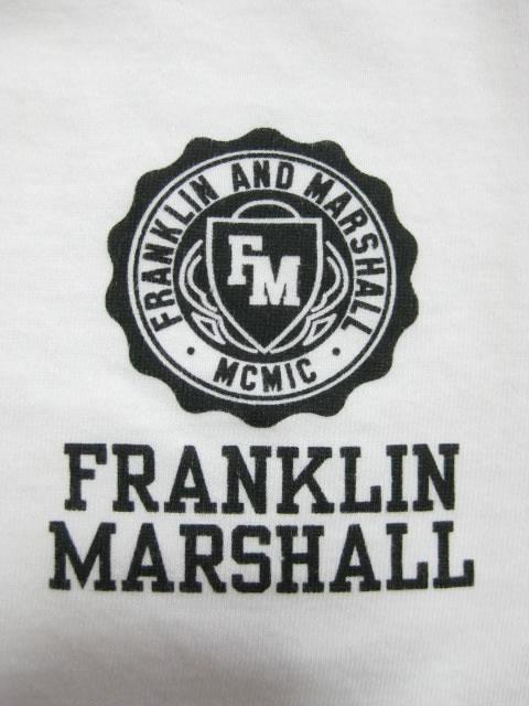 (大きいサイズ メンズ 通販 デビルーズ)FRANKLIN&MARSHALL(フランクリンアンドマーシャル)「ASSEMBLY」TEE