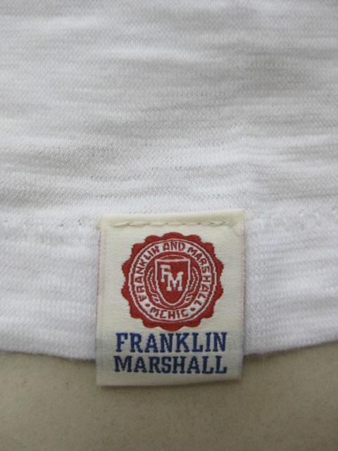 (大きいサイズ メンズ 通販 デビルーズ)FRANKLIN&MARSHALL(フランクリンアンドマーシャル)無地VネックTEE