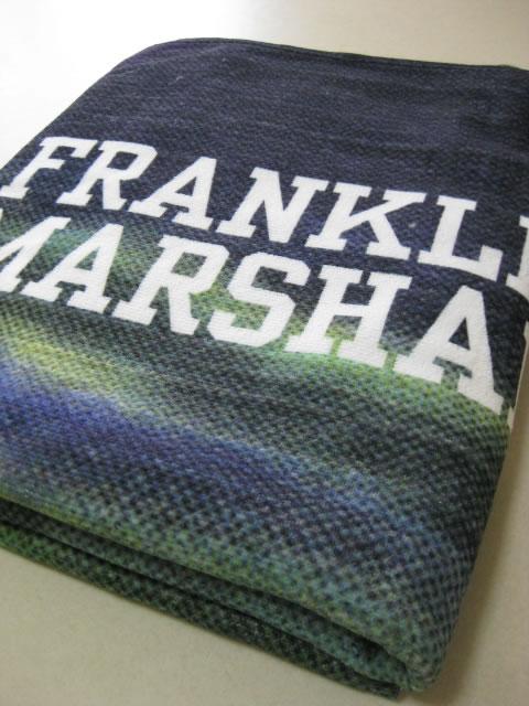 (大きいサイズ メンズ 通販 デビルーズ)FRANKLIN&MARSHALL(フランクリンアンドマーシャル)「MIDNIGHT SAIL」ビーチタオル