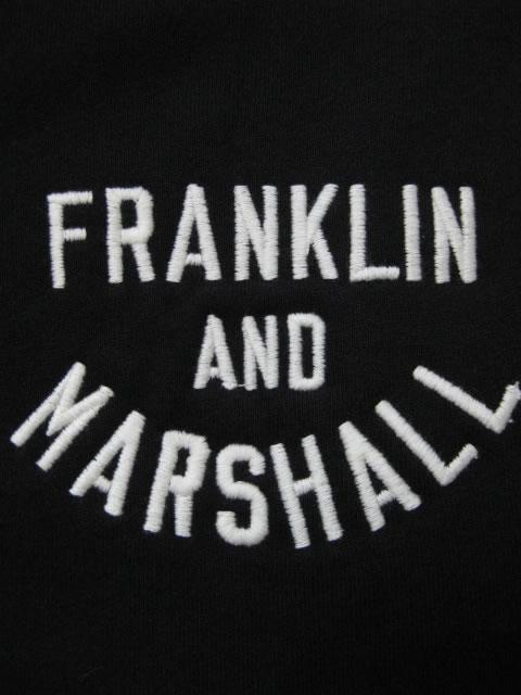 (大きいサイズ メンズ 通販 デビルーズ)FRANKLIN&MARSHALL 「FM」フルZIP HOODY