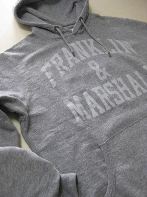 (大きいサイズ メンズ 通販 デビルーズ)FRANKLIN&MARSHALL 「F-M」HOODY