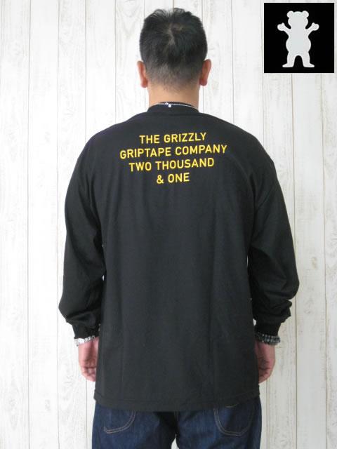 (大きいサイズ メンズ 通販 デビルーズ)GRIZZLY(グリズリー)「CREDITS」ロンTEE