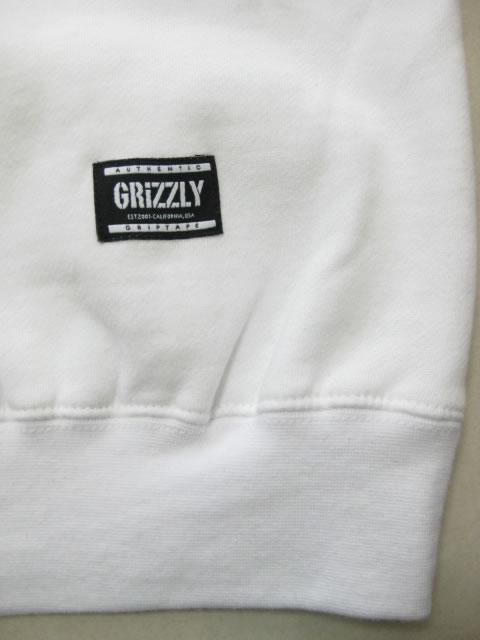 (大きいサイズ メンズ 通販 デビルーズ)GRIZZLY(グリズリー)「RESCUE PEAK」ポケット付 スウェットシャツ