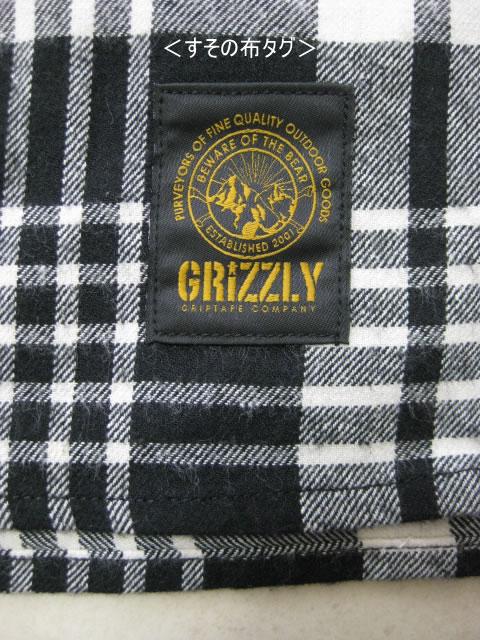 (大きいサイズ メンズ 通販 デビルーズ)GRIZZLY(グリズリー)「BOULDER」長袖ネルシャツ