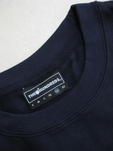 (大きいサイズ)THE HUNDREDS(ザ ハンドレッズ)「FOREVER BAR」スウェットシャツ