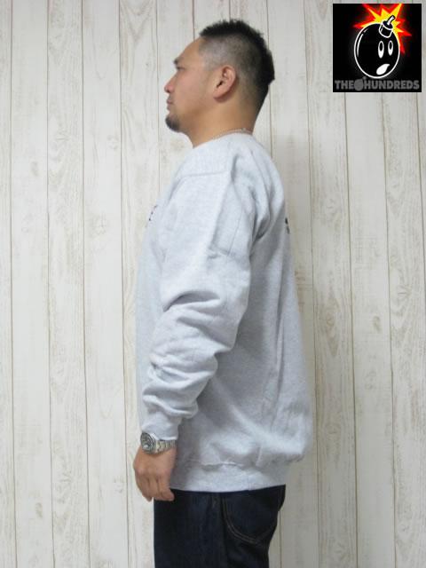 (大きいサイズ メンズ 通販 デビルーズ)THE HUNDREDS(ザ ハンドレッズ)「SIMPLE ADAM」スウェットシャツ