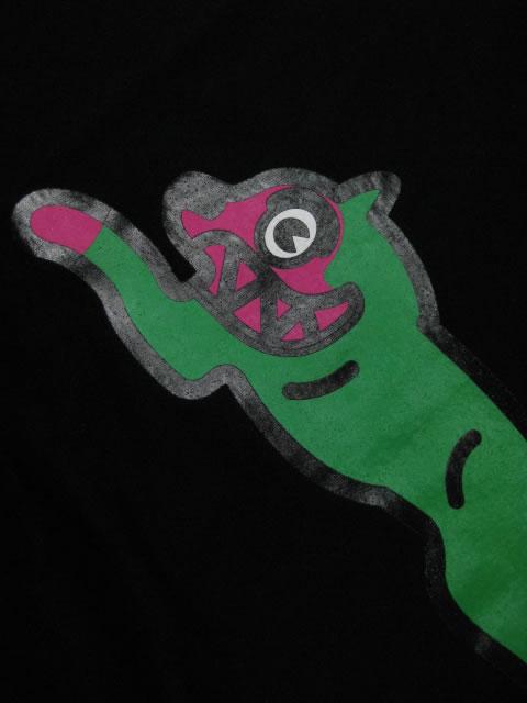 (大きいサイズ メンズ 通販 デビルーズ)ICECREAM(アイスクリーム)「GREEN RUNNING DOG」TEE