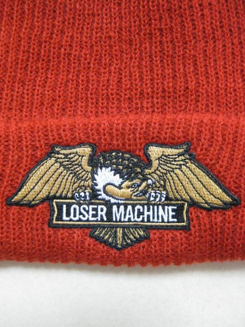 (大きいサイズ メンズ 通販 デビルーズ)LOSER MACHINE(ルーザーマシーン)「FRANK」ビーニー