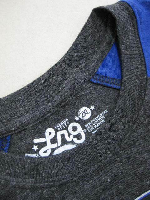 (大きいサイズ)LRG(エルアールジー)「RC−GET LIFTED」七分袖TEE