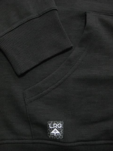 (大きいサイズ メンズ 通販 デビルーズ)LRG(エルアールジー)「RC−P」ヘンリーネックHOODY