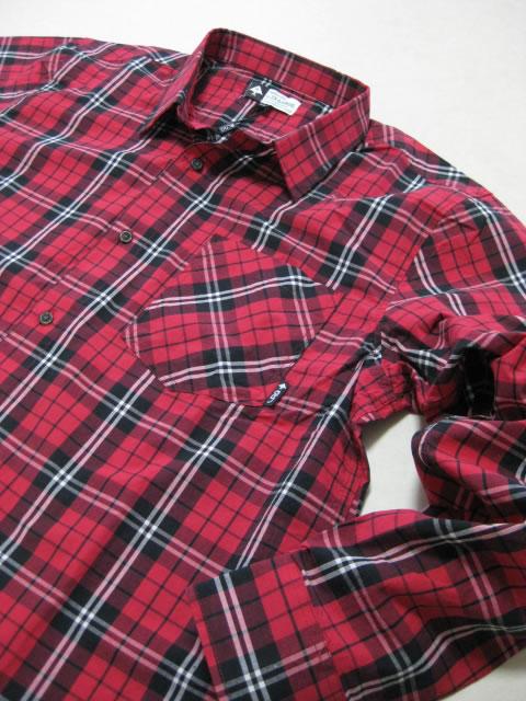(大きいサイズ メンズ 通販 デビルーズ)LRG(エルアールジー)「RC POPLIN」長袖シャツ