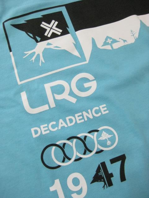 (大きいサイズ メンズ 通販 デビルーズ)LRG(エルアールジー)「DECADENCE」TEE