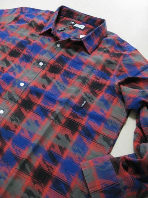 (大きいサイズ メンズ 通販 デビルーズ)LRG(エルアールジー)「KAIDEN」長袖シャツ
