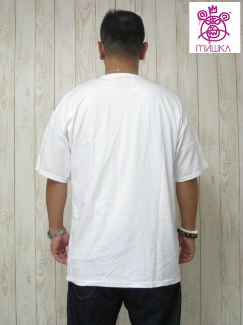 (大きいサイズ メンズ 通販 デビルーズ)MISHKA(ミシカ)「TONAL NEIGHBORHOOD SNIPER」TEE