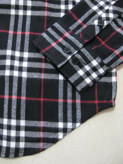 (大きいサイズ メンズ 通販 デビルーズ)MISHKA(ミシカ)「BB CHECK」長袖ネルシャツ