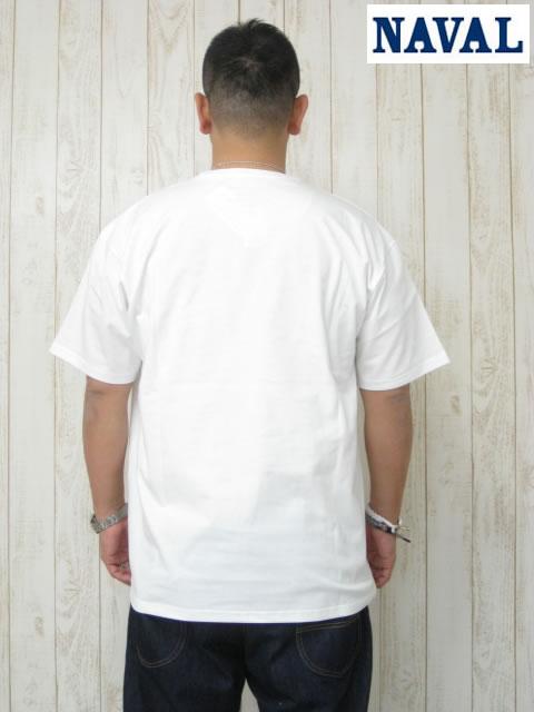 (大きいサイズ メンズ 通販 デビルーズ)NAVAL(ナバル)パイルポケット VネックTEE