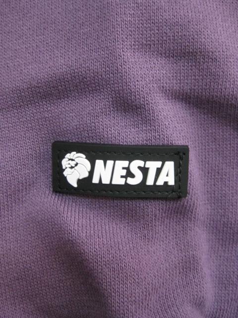 (大きいサイズ)NESTABRAND(ネスタブランド)「SPIKED N」スウェットシャツ