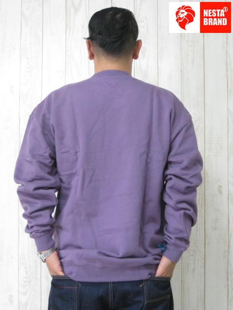 (大きいサイズ)NESTABRAND(ネスタブランド)「SAFARI DUSK」スウェットシャツ