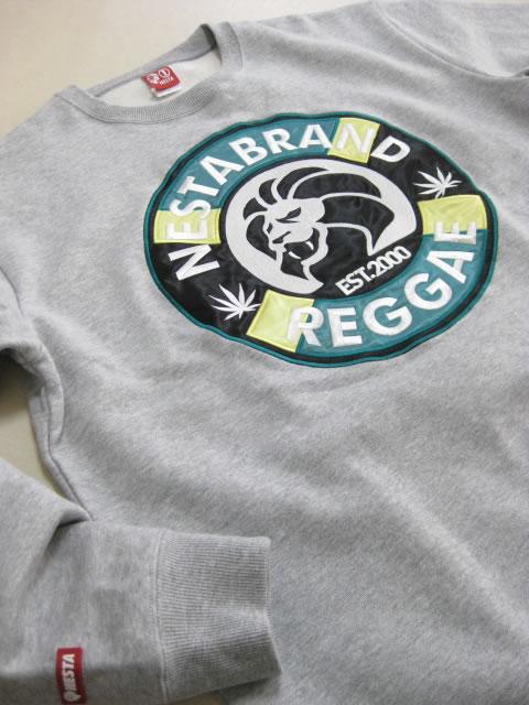 (大きいサイズ)NESTABRAND(ネスタブランド)「COFFEE SHOP」スウェットシャツ