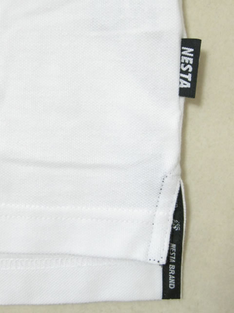 (大きいサイズ メンズ 通販 デビルーズ)NESTABRAND(ネスタブランド)「LION POCKET」半袖ポロシャツ