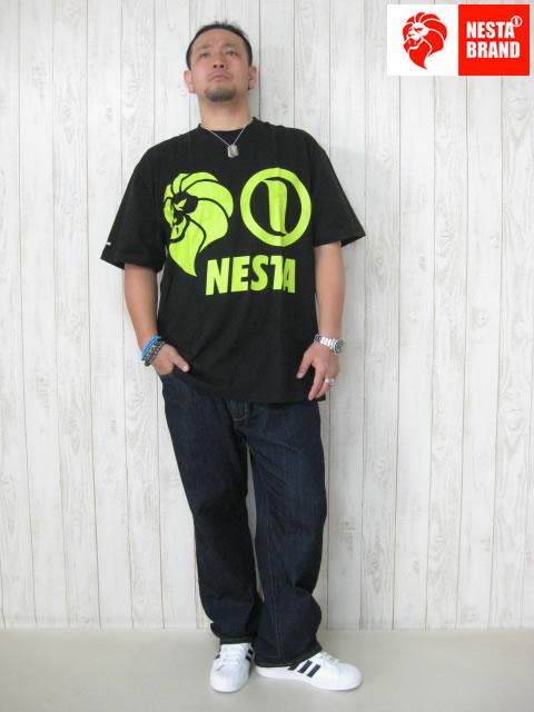 (大きいサイズ メンズ 通販 デビルーズ)NESTABRAND(ネスタブランド)「NESTA CLASSIC LOGO」TEE
