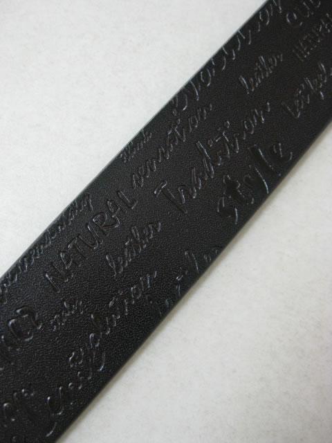 (大きいサイズ メンズ 通販 デビルーズ)NICOLE LENIC(ニコル レニック)「MESSAGE」ベルト