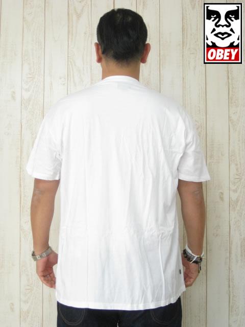 (大きいサイズ メンズ 通販 デビルーズ)OBEY(オベイ)「PREMIUM VINTAGE」TEE