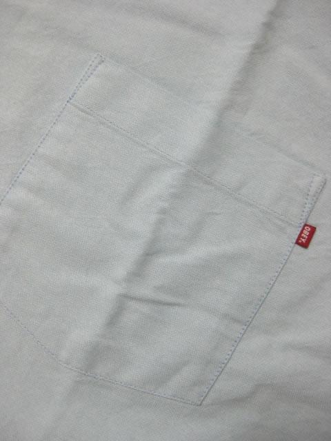 (大きいサイズ メンズ 通販 デビルーズ)OBEY(オベイ)「DISSENT TRAIT WOVEN」半袖シャツ