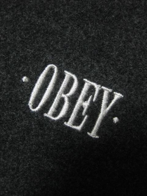 (大きいサイズ メンズ 通販 デビルーズ)OBEY(オベイ)「LURKER」コーチジャケット