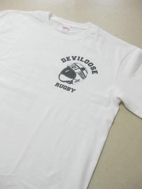 (大きいサイズ メンズ 通販 デビルーズ)デビルーズオリジナル「HEADCAP&JERSEY」TEE