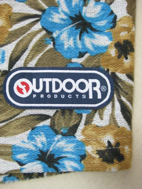 (大きいサイズ メンズ 通販 デビルーズ)OUTDOOR(アウトドア)「FLOWER」スウェットショーツ